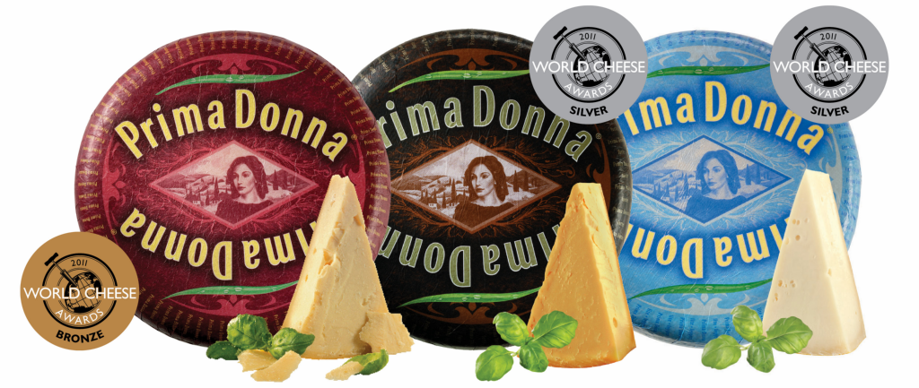 "Prima Donna premiado com o ""World Cheese Awards""!"
